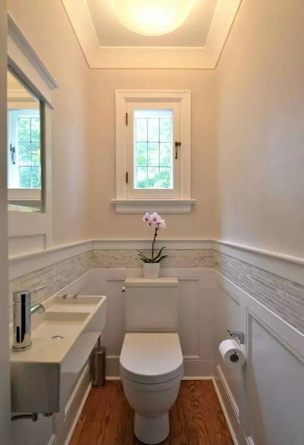 5平米的卫生间装修设计,小空间也能大不同