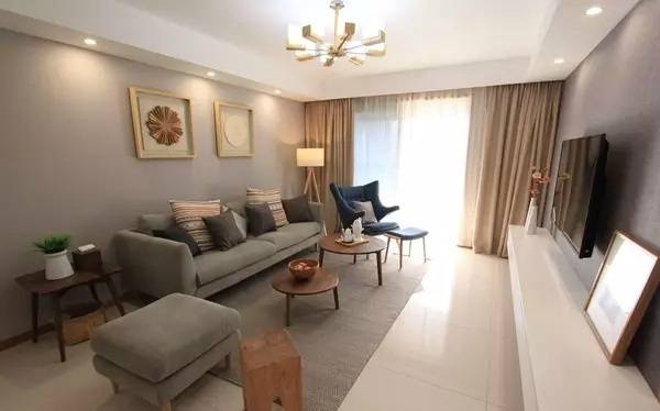 装修案例:90平三居室,打造现代简约风