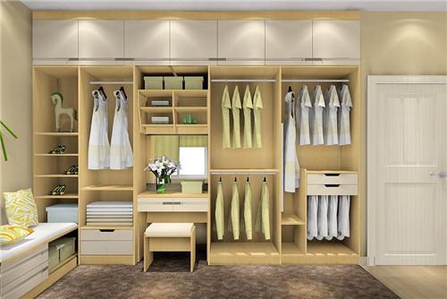 衣柜格局设计图 家装设计创意格局新点子图片