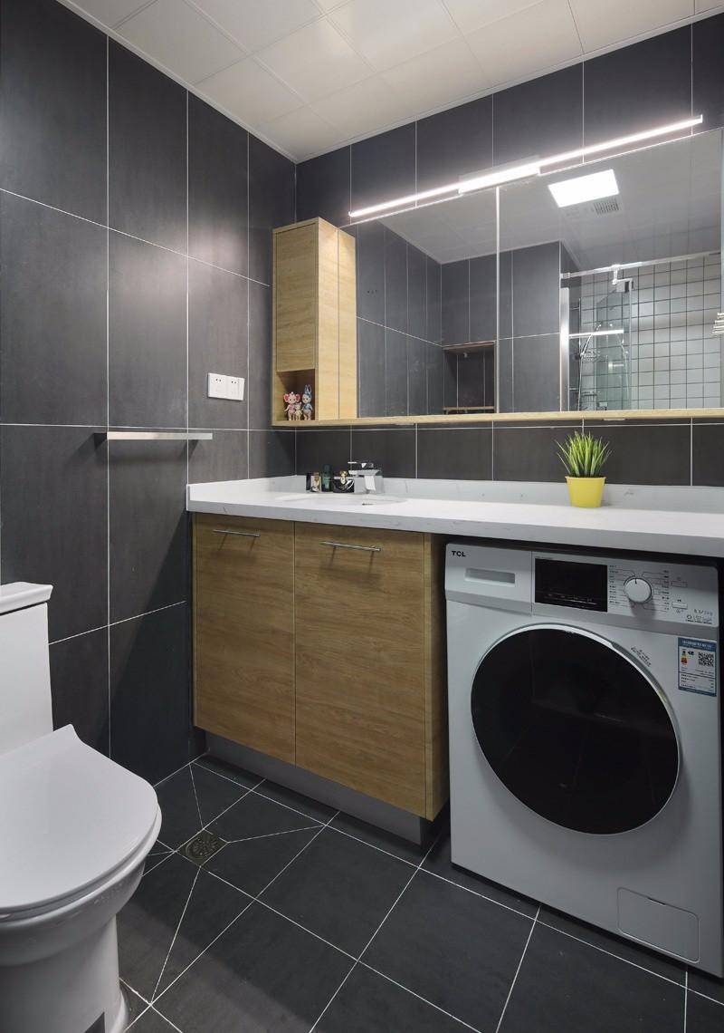 40平小户型装修样板房 卫浴厨房一个不少