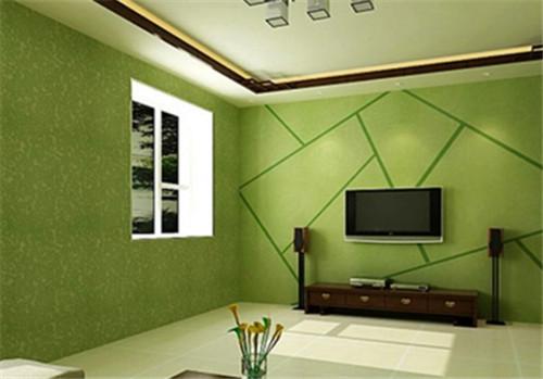 绿森林硅藻泥色彩柔和,眼睛看着舒适,用硅藻泥作电视背景墙,可以很好