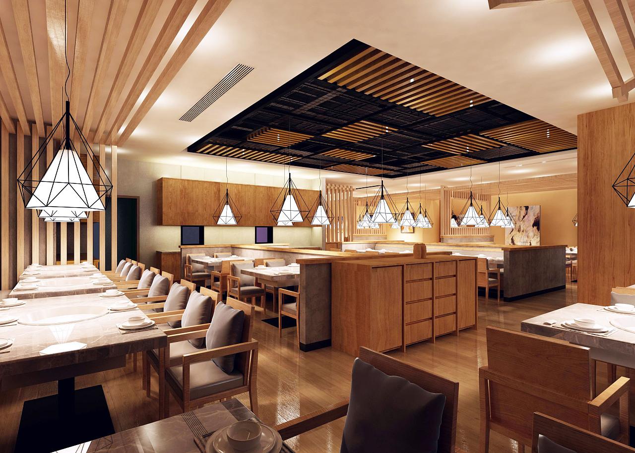 四种风格饭店装修效果图 哪种氛围你最喜欢?
