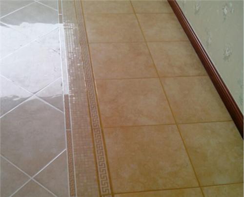 瓷砖美缝效果图 与众不同的地面装饰效果