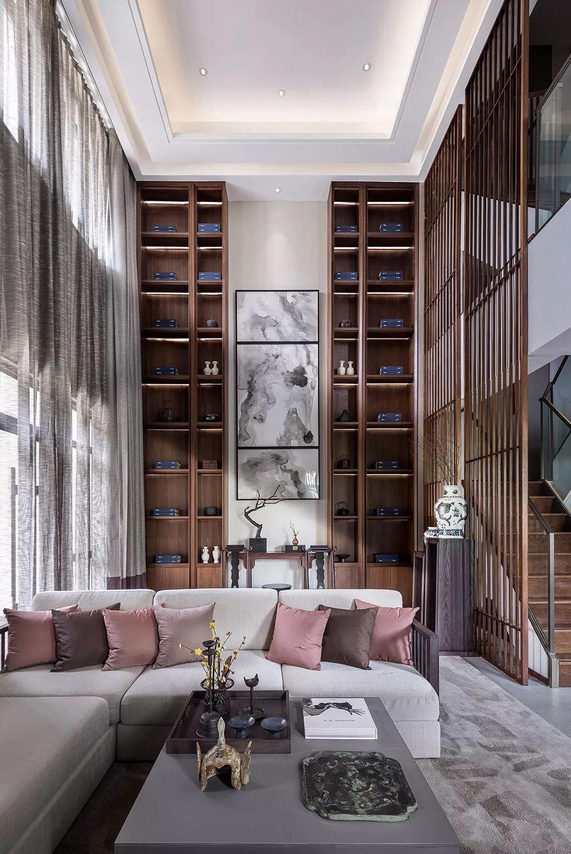 新中式|客厅