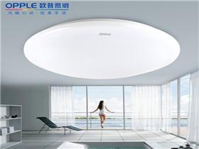 欧普led吸顶灯价格  欧普led灯让家居更智能