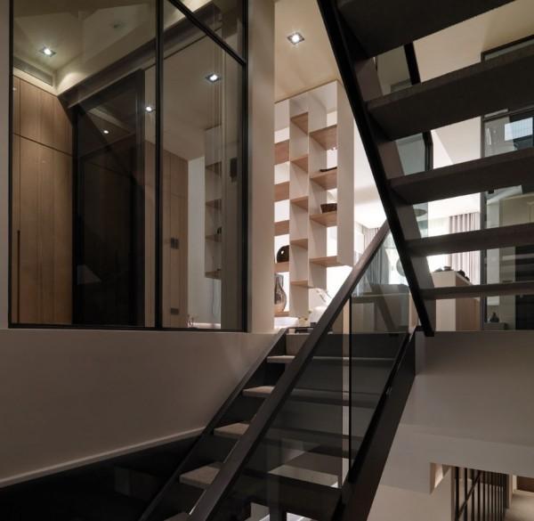 3层复式住宅装修鉴赏,原木现代简约风