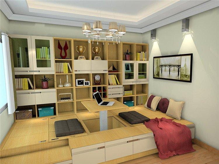 家居 起居室 设计 书房 装修 750_562