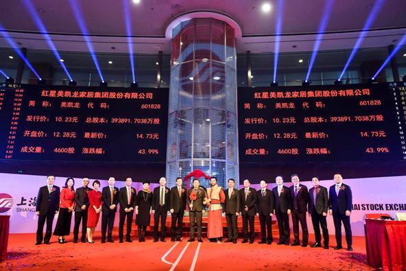 中国家居零售A+H第一股横空出世