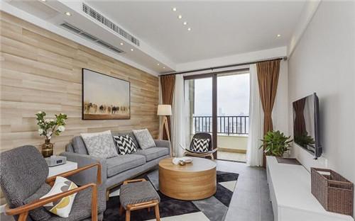二室一厅装修效果图 70平米小户型也可以很有格调