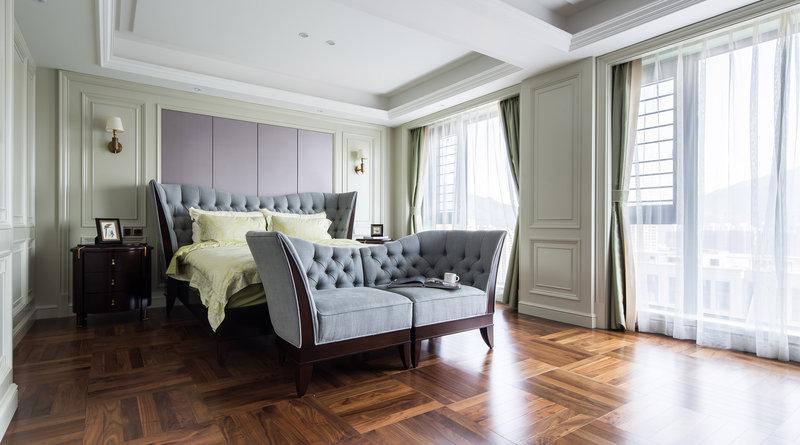 20万以上140平米以上美式四居室装修效果图,美式风格图片