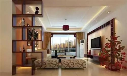 简中式电视背景墙效果图 让您享受全新的视觉盛宴