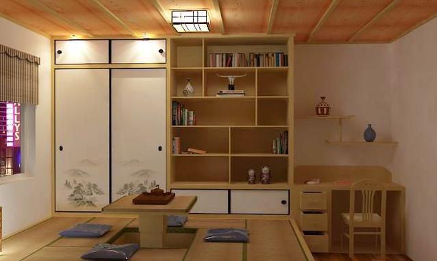 收纳休闲两不误 8款日式榻榻米卧室设计图片