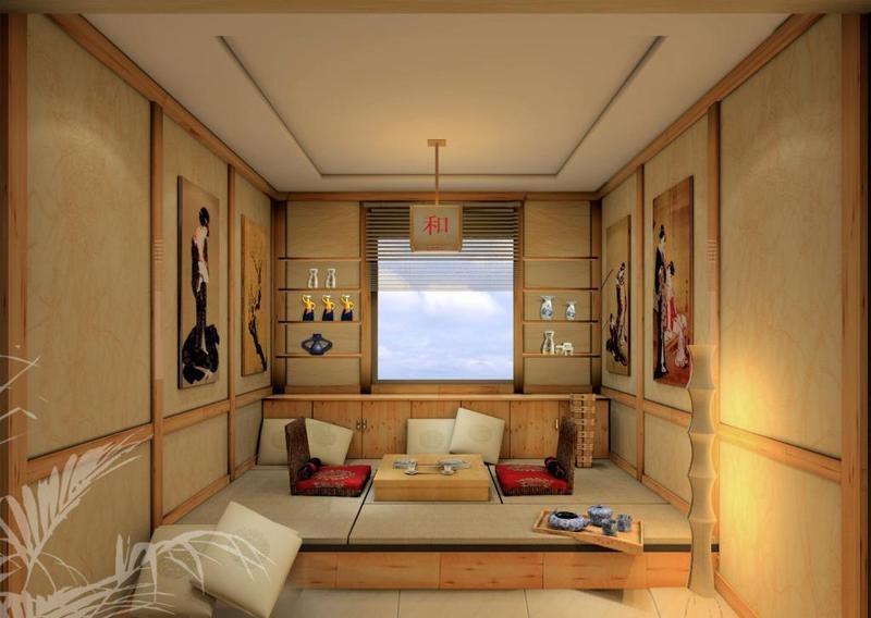 日式榻榻米卧室模型_收纳休闲两不误 8款日式榻榻米卧室设计