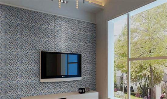 玻璃背景墙的装修效果图 美感十足还兼备实用性图片