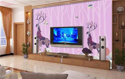 简约客厅电视背墙图片 炫酷电视墙瞬间提升客厅逼格