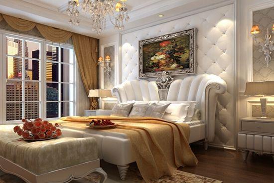 雅致又舒适,床头软包背景墙来一个吧!