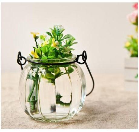玻璃花瓶带来文艺画风,自成一道风景