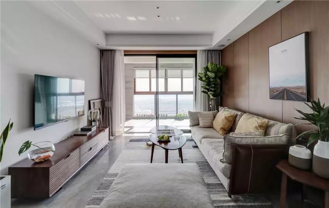 闺蜜的100�O北欧风新房,客厅设计得超棒,用12万就能装出高级感