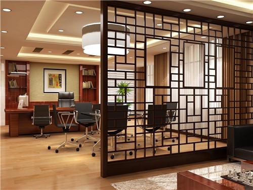 2018最新办公室隔断效果图 办公装饰设计案例-家装空间