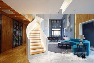 大户型现代风格别墅装修效果图
