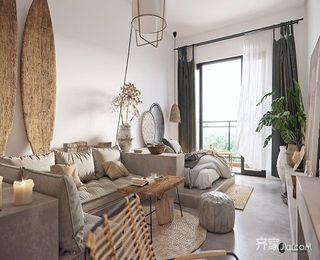小户型一居室公寓装修效果图