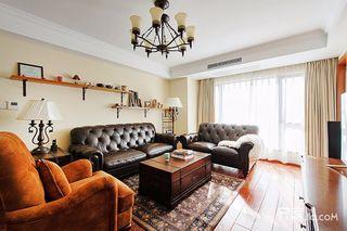 150平简美风格三居装修设计图