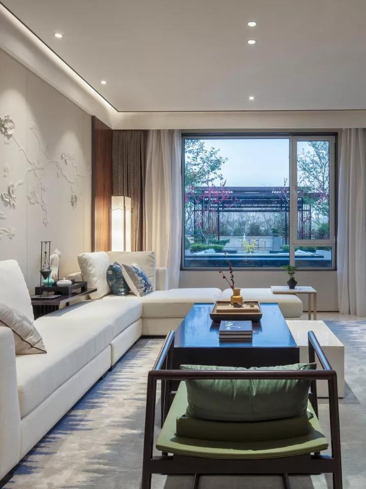 新中式的客厅才是最豪华的设计图片