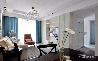 90平简美风格三居装修设计图