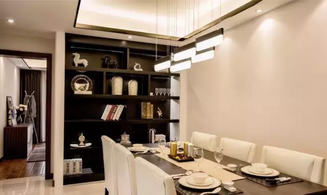 参观朋友的现代简约风婚房,头次见这么好看的背景墙设计,美腻了