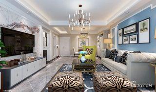 125平简美三居室装修效果图