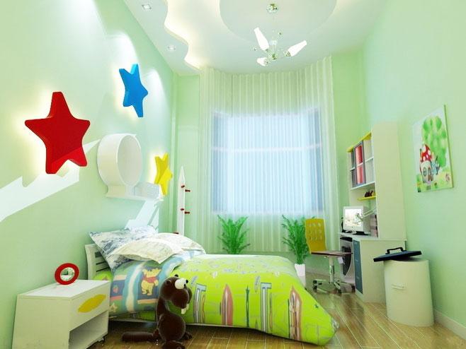 8款墙面漆设计儿童房