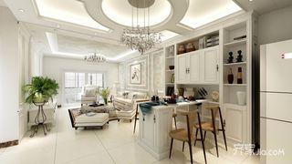 98平欧式三居室装修效果图