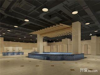 休闲养生文化广场装修室浴场效果图