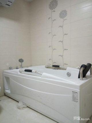 宜家二居室装修浴缸人品