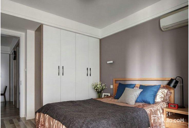 90㎡北欧风格家卧室设计图