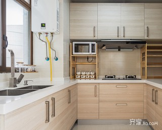 宜家二居室装修厨房欣赏图