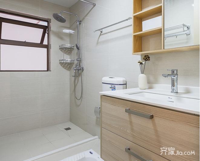 宜家二居室装修卫生间效果图