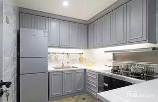 100平米中式风格家厨房设计图