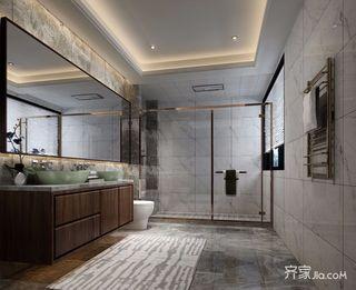 360平米新中式别墅卫生间装修效果图