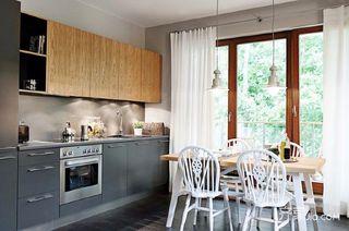 128㎡现代美式家厨房构造图