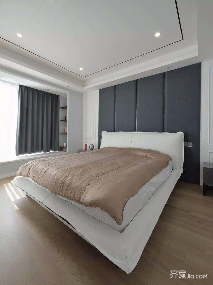 106平简约风格装修卧室设计图