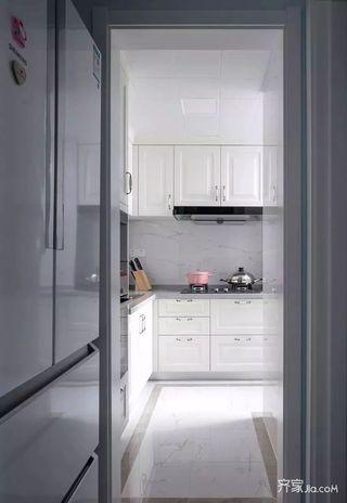 二居室法式混搭装修厨房设计图