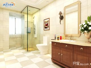 中式别墅设计卫生间装潢图