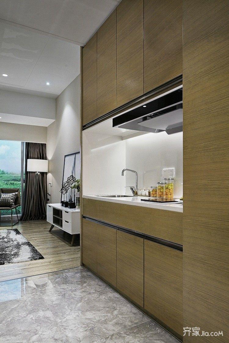 一居室小户型装修厨房设计图