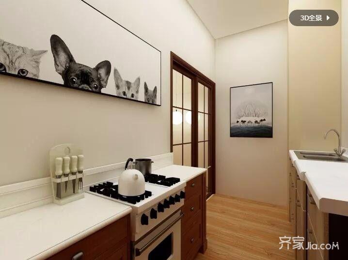 60平田园之家厨房设计图