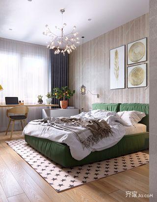 一居室简约小家卧室欣赏图