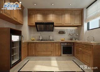 170平中式别墅厨房设计图