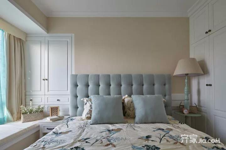 三居室混搭风格装修卧室设计图
