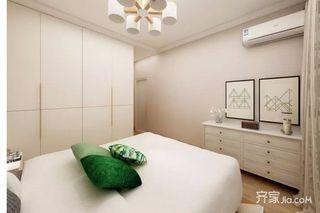 二居室简约风装修卧室设计图