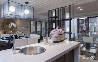 150平四居室中式韵味之家吊灯